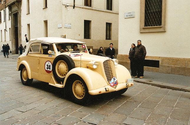 Alfa romeo 6c 2500 coloniale for Classic house nl